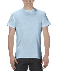 Powder Blue Adult 5.1 oz., 100% Cotton T-Shirt