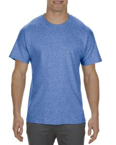 Royal Heather Adult 5.1 oz., 100% Cotton T-Shirt