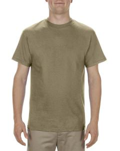 Safari Green Adult 5.1 oz., 100% Cotton T-Shirt