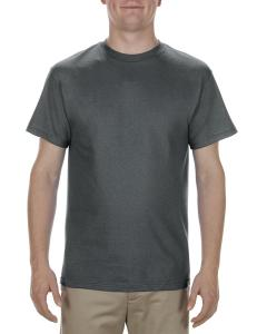 Charcoal Adult 5.1 oz., 100% Cotton T-Shirt