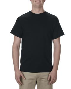 Black Adult 5.1 oz., 100% Cotton T-Shirt