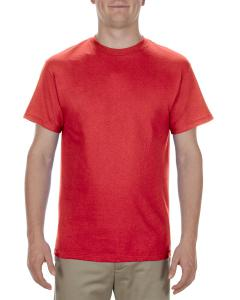 Red Adult 5.1 oz., 100% Cotton T-Shirt