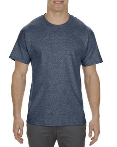 Navy Heather Adult 5.1 oz., 100% Cotton T-Shirt