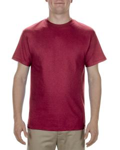 Cardinal Adult 5.1 oz., 100% Cotton T-Shirt