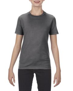 Charcoal Heather Youth 4.3 oz., Ringspun Cotton T-Shirt