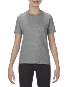Graphite Heather Youth 4.3 oz., Ringspun Cotton T-Shirt