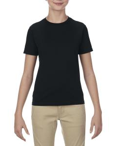 Black Youth 4.3 oz., Ringspun Cotton T-Shirt