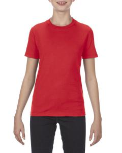 Red Youth 4.3 oz., Ringspun Cotton T-Shirt