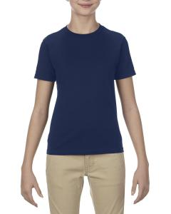 Navy Youth 4.3 oz., Ringspun Cotton T-Shirt