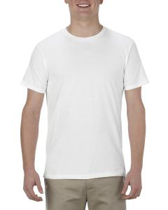 White Adult 4.3 oz., Ringspun Cotton T-Shirt