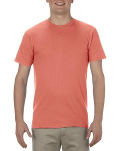 Coral Adult 4.3 oz., Ringspun Cotton T-Shirt
