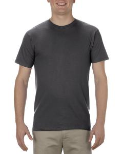 Charcoal Heather Adult 4.3 oz., Ringspun Cotton T-Shirt