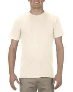 Cream Adult 4.3 oz., Ringspun Cotton T-Shirt