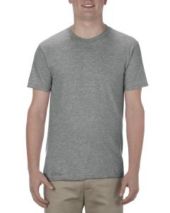 Graphite Heather Adult 4.3 oz., Ringspun Cotton T-Shirt