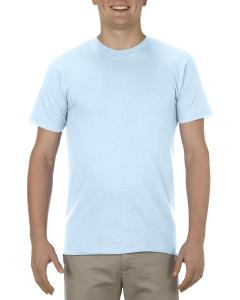 Powder Blue Adult 4.3 oz., Ringspun Cotton T-Shirt