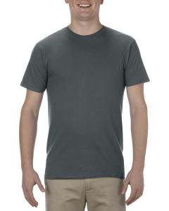 Charcoal Adult 4.3 oz., Ringspun Cotton T-Shirt