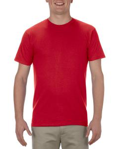 Red Adult 4.3 oz., Ringspun Cotton T-Shirt