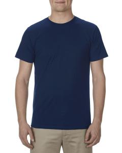 Navy Adult 4.3 oz., Ringspun Cotton T-Shirt