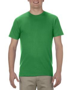 Kelly Adult 4.3 oz., Ringspun Cotton T-Shirt