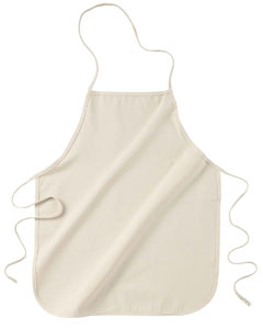 "Natural 24"" Apron Without Pockets"