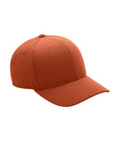 Sport Bnrt Ornge Adult Cool & Dry Mini Pique Performance Cap by Flexfit