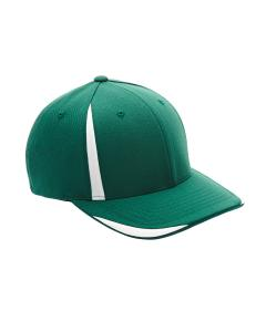 Sp Forest/ White Adult Pro-Formance Front Sweep Cap by Flexfit
