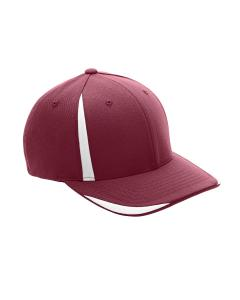 Sp Maroon/ White Adult Pro-Formance Front Sweep Cap by Flexfit