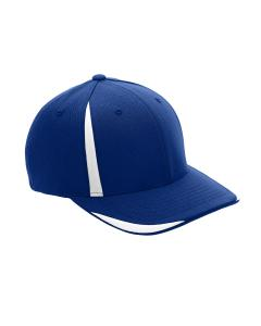 Sp Royal/ White Adult Pro-Formance Front Sweep Cap by Flexfit