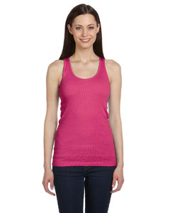 Berry Women's 2x1 Rib Racerback Longer Length Tank