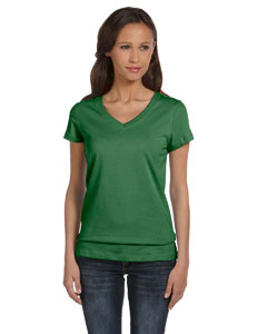 Leaf Women's Jersey Short-Sleeve V-Neck T-Shirt