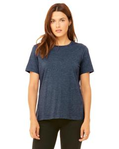 Heather Navy Missy Jersey Short-Sleeve T-Shirt