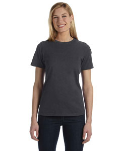 Dark Grey Heather Missy Jersey Short-Sleeve T-Shirt