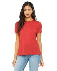 Red Triblend Missy Jersey Short-Sleeve T-Shirt