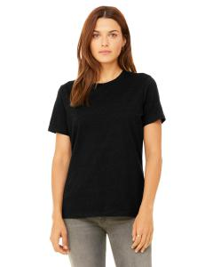 Black Heather Missy Jersey Short-Sleeve T-Shirt