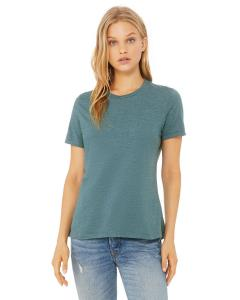 Hthr Deep Teal Missy Jersey Short-Sleeve T-Shirt