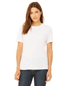 White Slub Missy Jersey Short-Sleeve T-Shirt