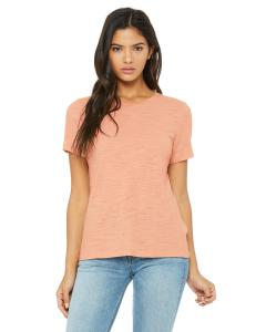Peach Slub Missy Jersey Short-Sleeve T-Shirt