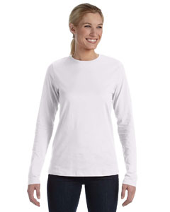 White Missy Jersey Long-Sleeve T-Shirt