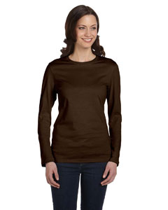 Chocolate Women's Jersey Long-Sleeve T-Shirt