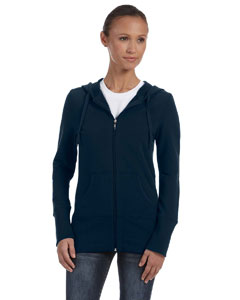 Midnight Women's Stretch French Terry Lounge Jacket