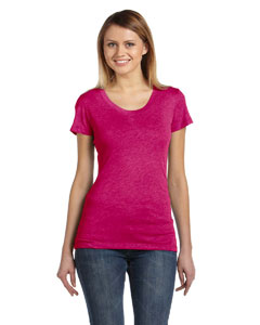Berry Triblend Women's Triblend Short-Sleeve T-Shirt