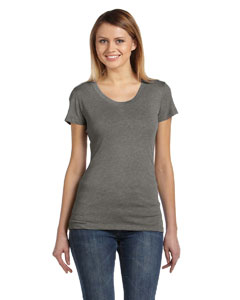 Grey Triblend Ladies' Triblend Short-Sleeve T-Shirt