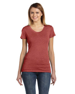 Clay Triblend Ladies' Triblend Short-Sleeve T-Shirt