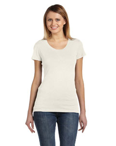 Oatmeal Triblend Ladies' Triblend Short-Sleeve T-Shirt