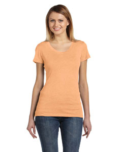 Orange Triblend Ladies' Triblend Short-Sleeve T-Shirt