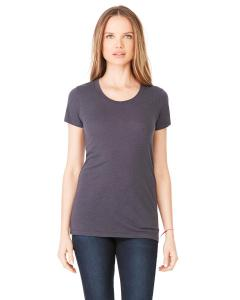 Sld Dk Gry Trbln Ladies' Triblend Short-Sleeve T-Shirt