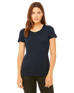 Solid Navy Trbln Ladies' Triblend Short-Sleeve T-Shirt