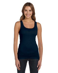 Midnight Women's Sheer Mini Rib Tank