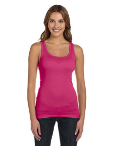 Berry Women's Sheer Mini Rib Tank