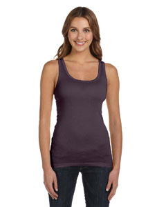 Plum Women's Sheer Mini Rib Tank